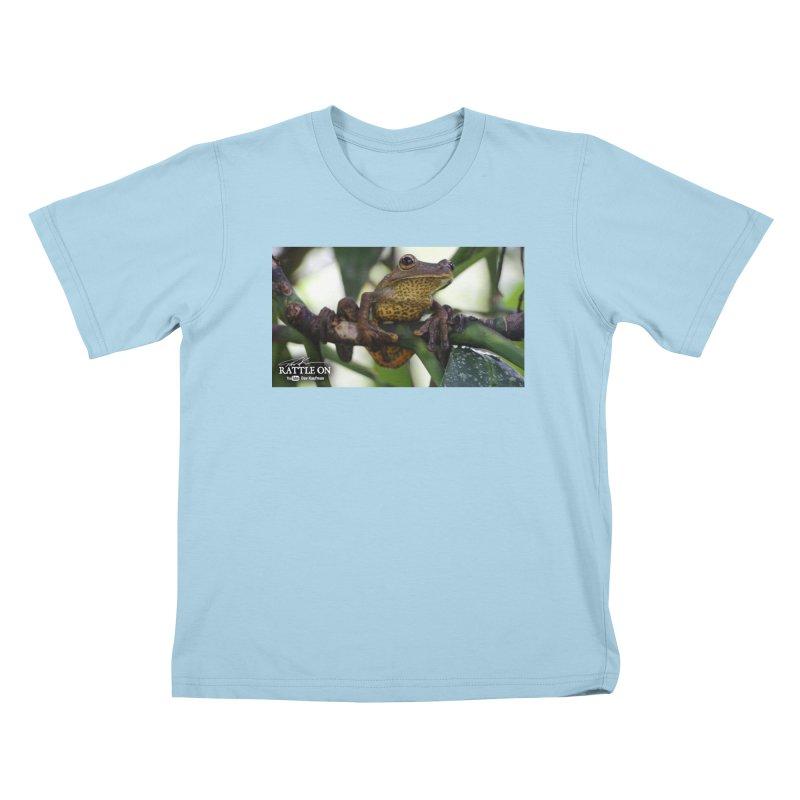 Map Frog Kids T-Shirt by Dav Kaufman's Swag Shop!
