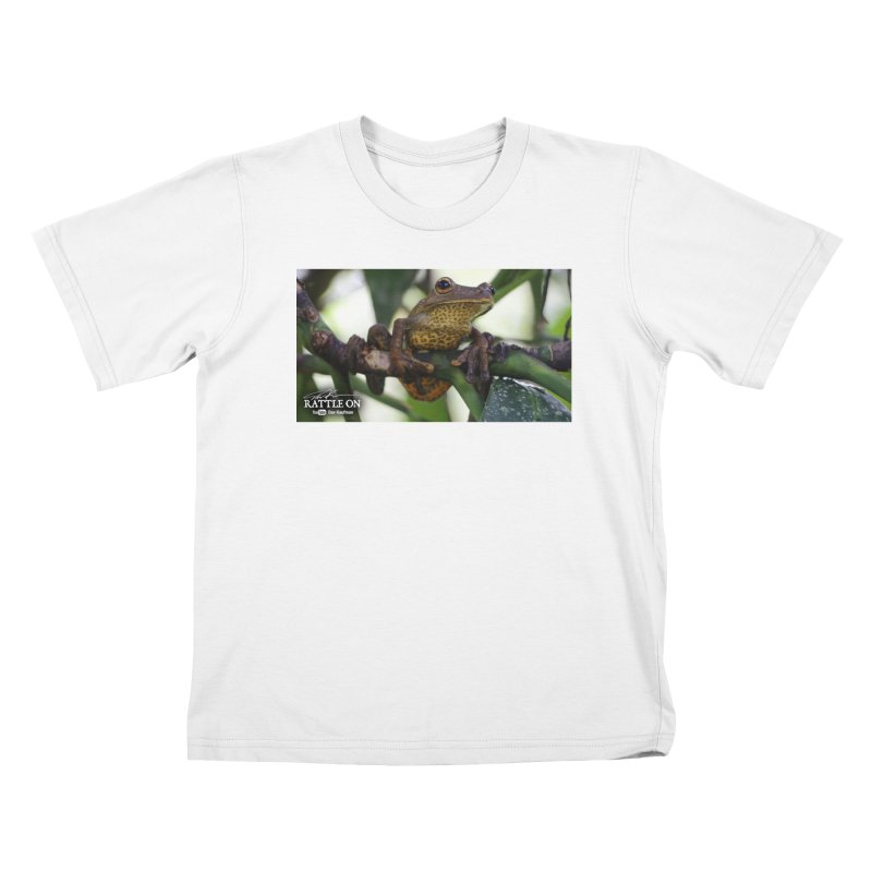 Map Frog Kids T-Shirt by Dav Kaufman's Swag Shop!
