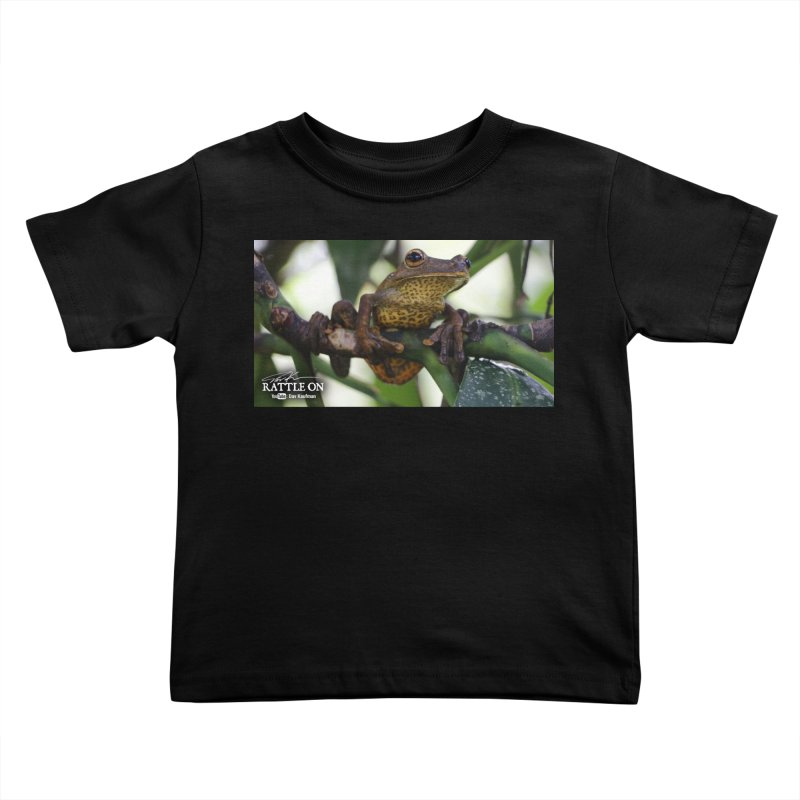 Map Frog Kids Toddler T-Shirt by Dav Kaufman's Swag Shop!