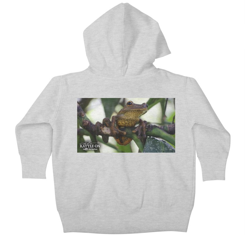 Map Frog Kids Baby Zip-Up Hoody by Dav Kaufman's Swag Shop!
