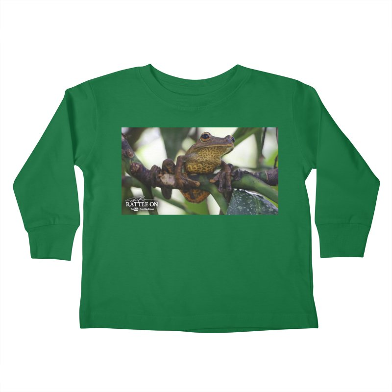 Map Frog Kids Toddler Longsleeve T-Shirt by Dav Kaufman's Swag Shop!