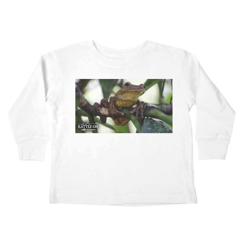 Map Frog Kids Toddler Longsleeve T-Shirt by Dav Kaufman's Swag Shop!