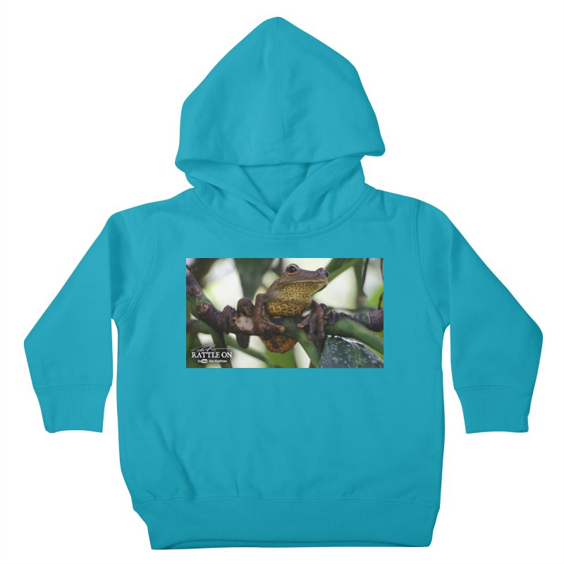 Map Frog Kids Toddler Pullover Hoody by Dav Kaufman's Swag Shop!