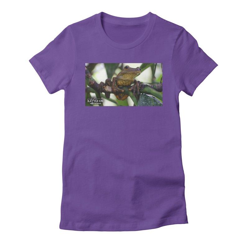 Map Frog Women's T-Shirt by Dav Kaufman's Swag Shop!