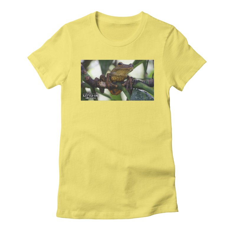 Map Frog Women's T-Shirt by Dav Kaufman's Swag Shop!