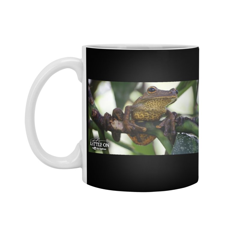Map Frog Accessories Mug by Dav Kaufman's Swag Shop!