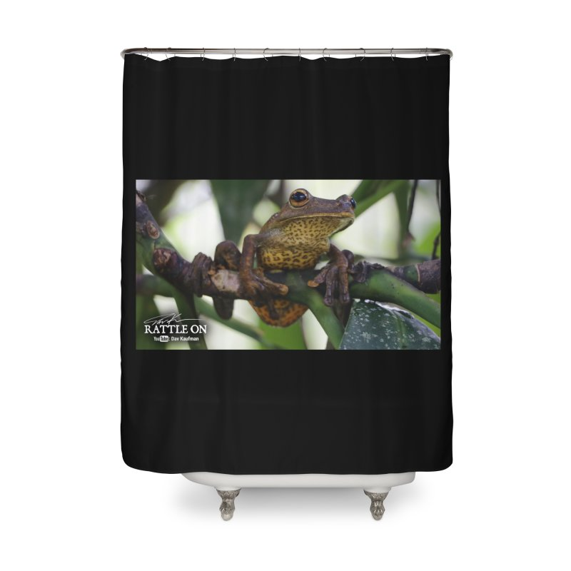Map Frog Home Shower Curtain by Dav Kaufman's Swag Shop!