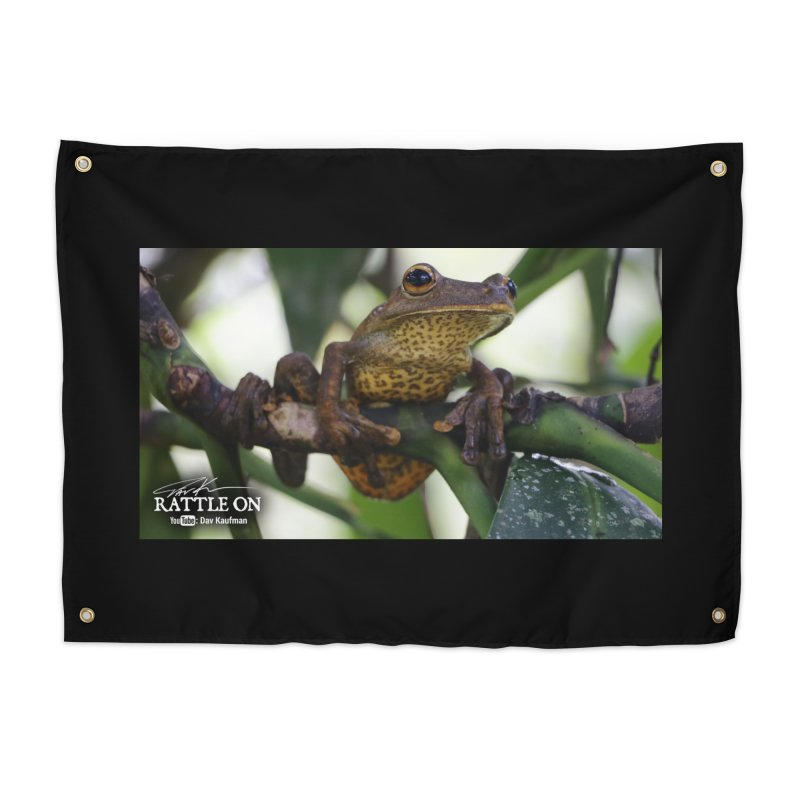 Map Frog Home Tapestry by Dav Kaufman's Swag Shop!