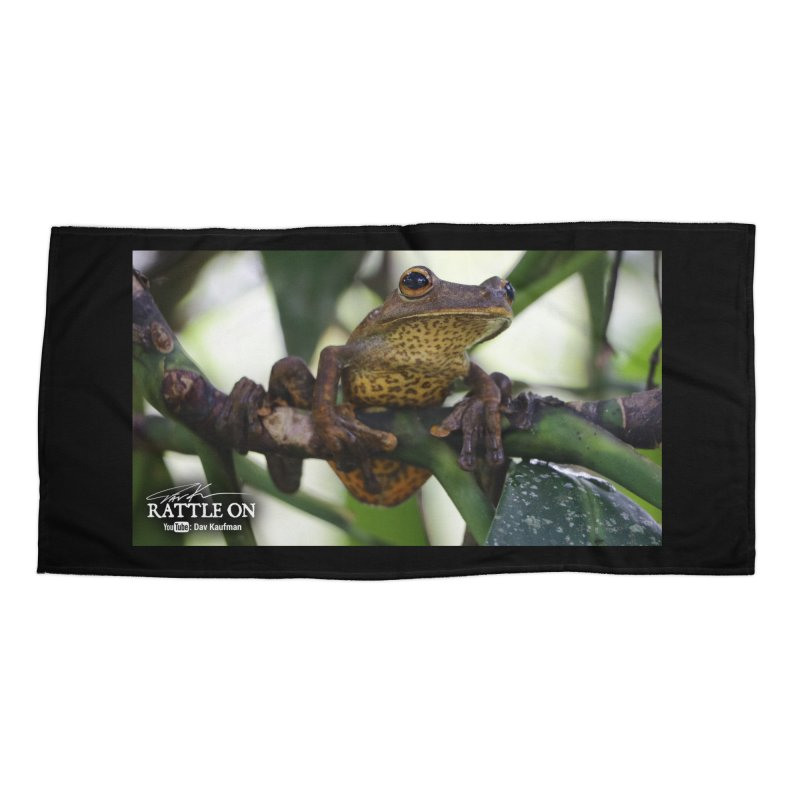Map Frog Accessories Beach Towel by Dav Kaufman's Swag Shop!