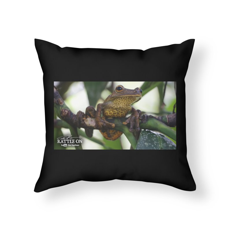 Map Frog Home Throw Pillow by Dav Kaufman's Swag Shop!