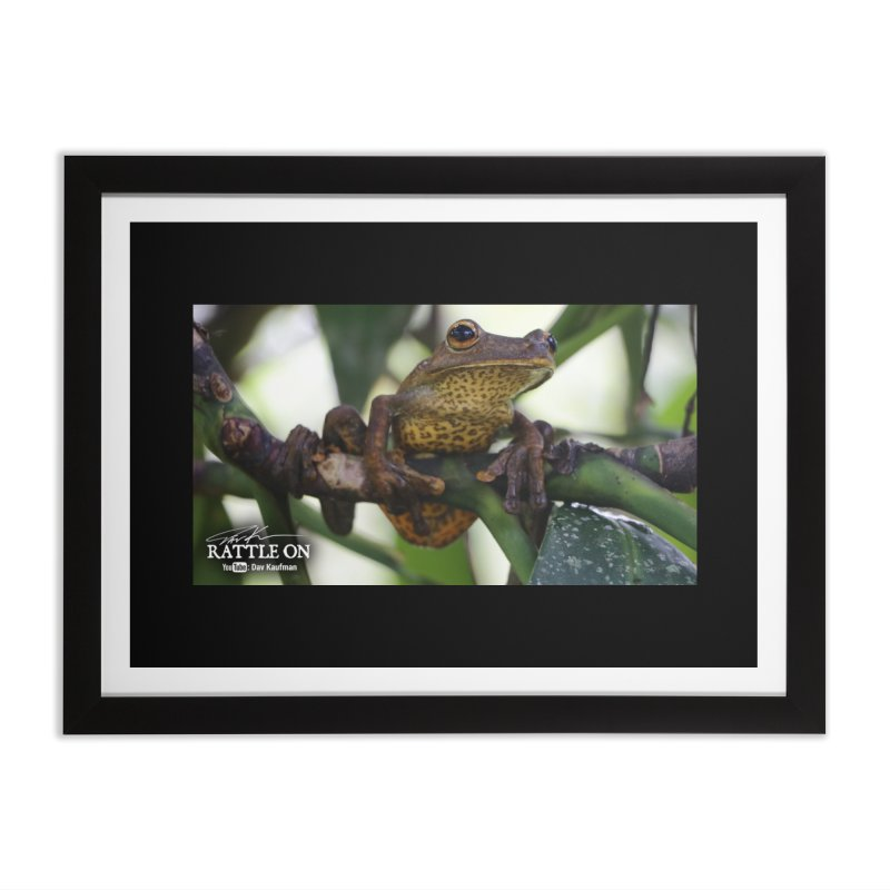 Map Frog Home Framed Fine Art Print by Dav Kaufman's Swag Shop!
