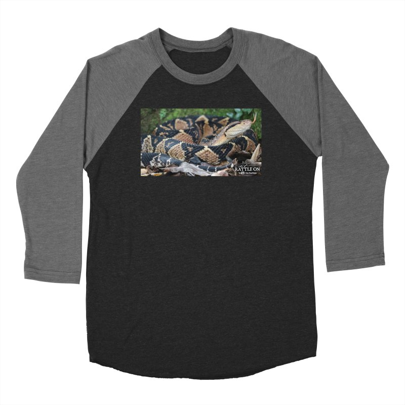 Bushmaster Men's Baseball Triblend Longsleeve T-Shirt by Dav Kaufman's Swag Shop!