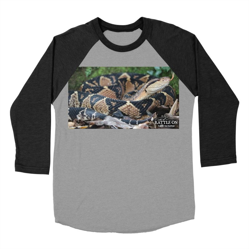 Bushmaster Men's Baseball Triblend Longsleeve T-Shirt by Dav Kaufman's Swag Shop!