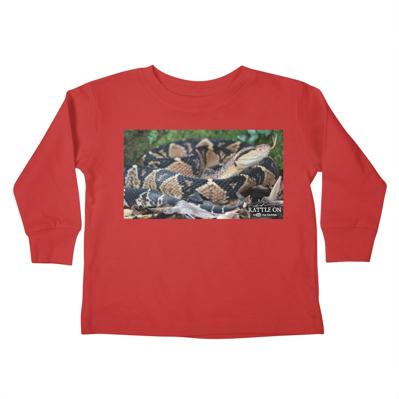 Bushmaster Kids Toddler Longsleeve T-Shirt by Dav Kaufman's Swag Shop!
