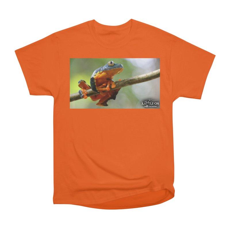 Amazon Leaf Frog Men's T-Shirt by Dav Kaufman's Swag Shop!