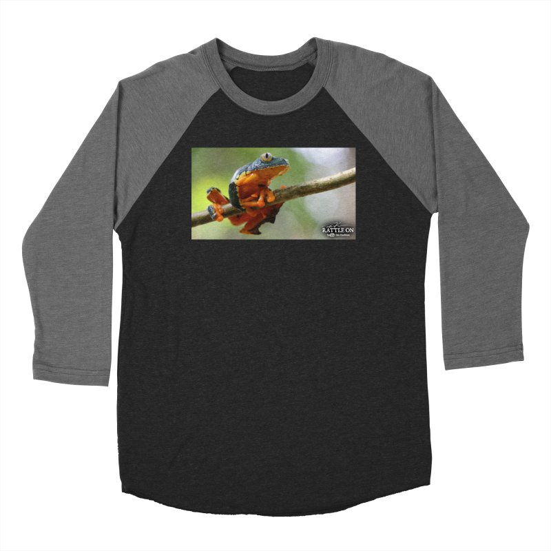 Amazon Leaf Frog Women's Longsleeve T-Shirt by Dav Kaufman's Swag Shop!