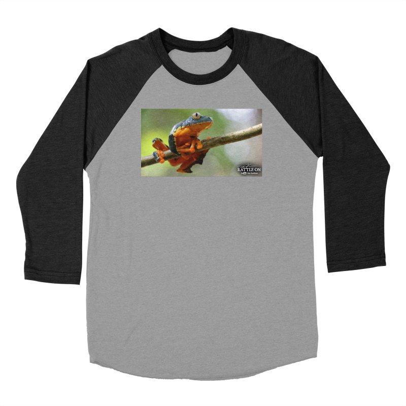 Amazon Leaf Frog Women's Longsleeve T-Shirt by Dav Kaufman's Swag Shop!