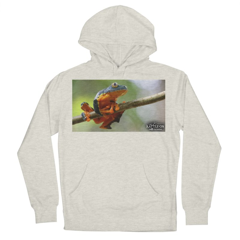 Amazon Leaf Frog Women's French Terry Pullover Hoody by Dav Kaufman's Swag Shop!