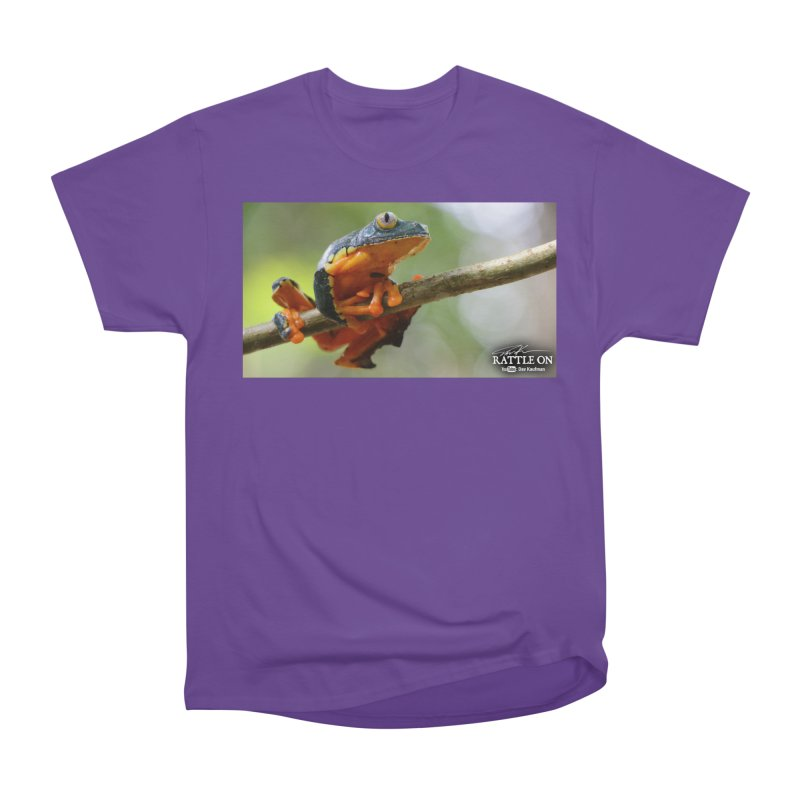 Amazon Leaf Frog Women's T-Shirt by Dav Kaufman's Swag Shop!