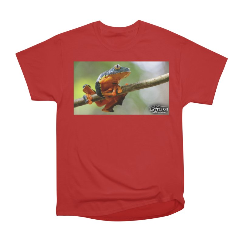 Amazon Leaf Frog Women's Classic Unisex T-Shirt by Dav Kaufman's Swag Shop!