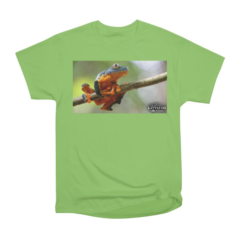 Amazon Leaf Frog Men's Heavyweight T-Shirt by Dav Kaufman's Swag Shop!
