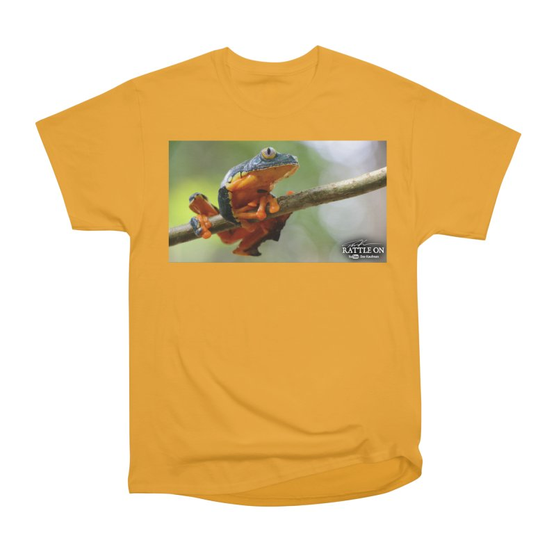 Amazon Leaf Frog Women's Heavyweight Unisex T-Shirt by Dav Kaufman's Swag Shop!