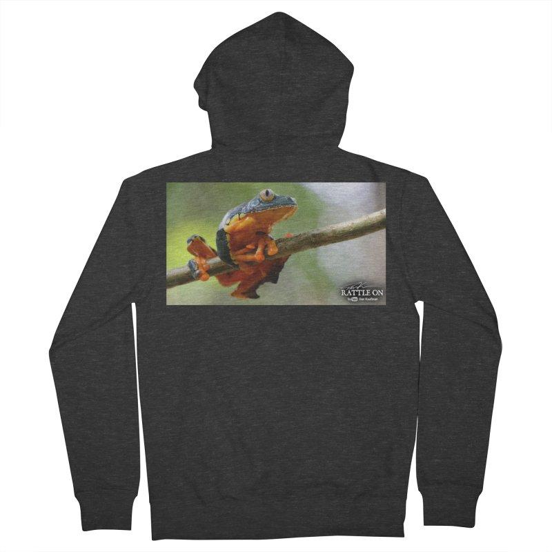 Amazon Leaf Frog Women's Zip-Up Hoody by Dav Kaufman's Swag Shop!