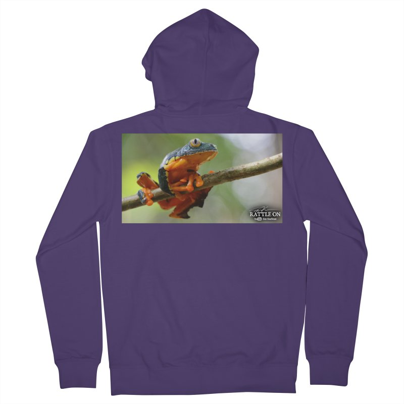 Amazon Leaf Frog Women's French Terry Zip-Up Hoody by Dav Kaufman's Swag Shop!