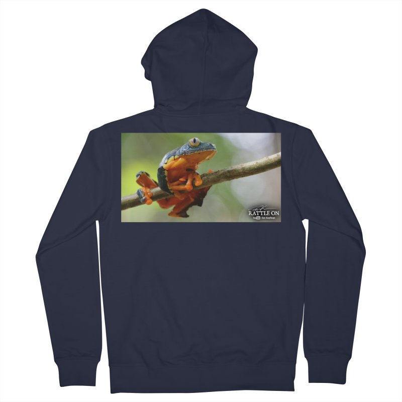 Amazon Leaf Frog Women's Zip-Up Hoody by Dav Kaufman's Swag Shop!
