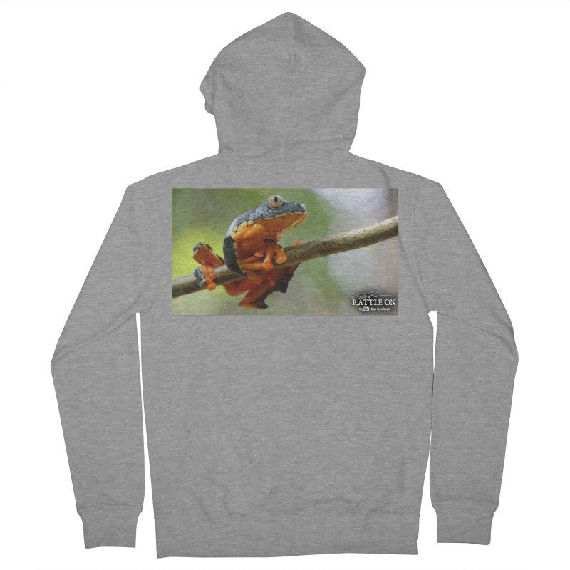Amazon Leaf Frog Men's Zip-Up Hoody by Dav Kaufman's Swag Shop!