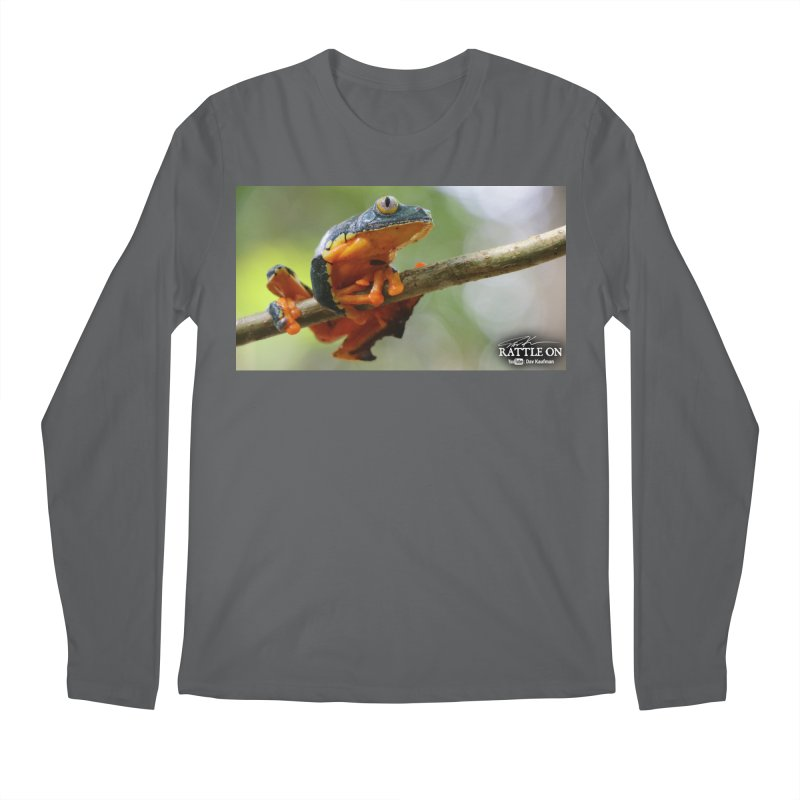 Amazon Leaf Frog Men's Longsleeve T-Shirt by Dav Kaufman's Swag Shop!