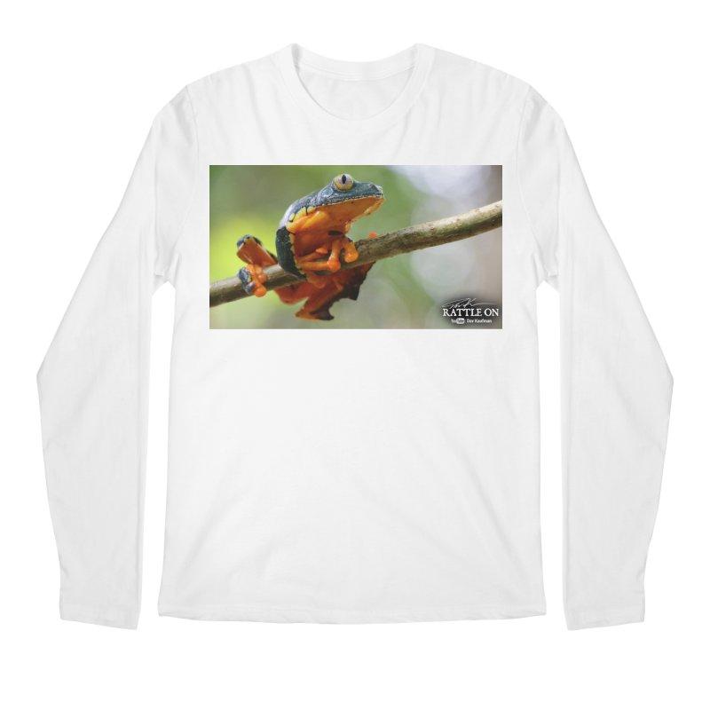 Amazon Leaf Frog Men's Regular Longsleeve T-Shirt by Dav Kaufman's Swag Shop!