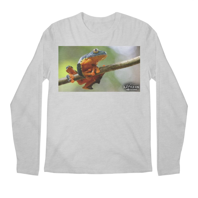Amazon Leaf Frog Men's Regular Longsleeve T-Shirt by Dav Kaufman's Swag Shop!