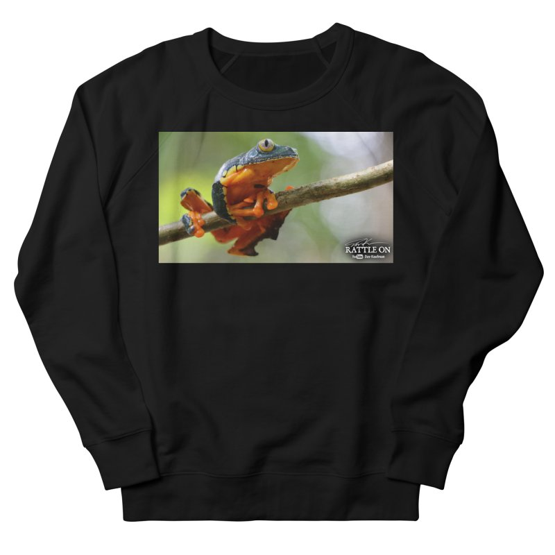 Amazon Leaf Frog Women's French Terry Sweatshirt by Dav Kaufman's Swag Shop!
