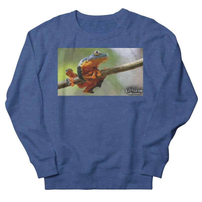 Amazon Leaf Frog Men's Sweatshirt by Dav Kaufman's Swag Shop!