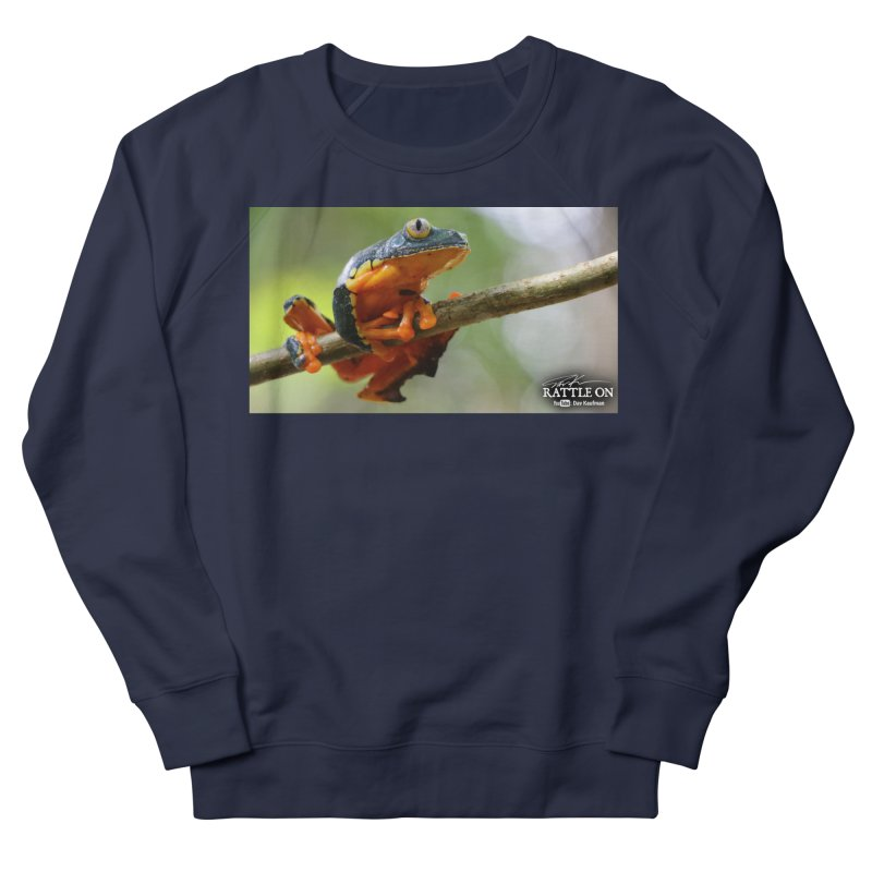 Amazon Leaf Frog Men's Sweatshirt by Dav Kaufman's Swag Shop!