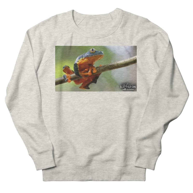 Amazon Leaf Frog Men's French Terry Sweatshirt by Dav Kaufman's Swag Shop!