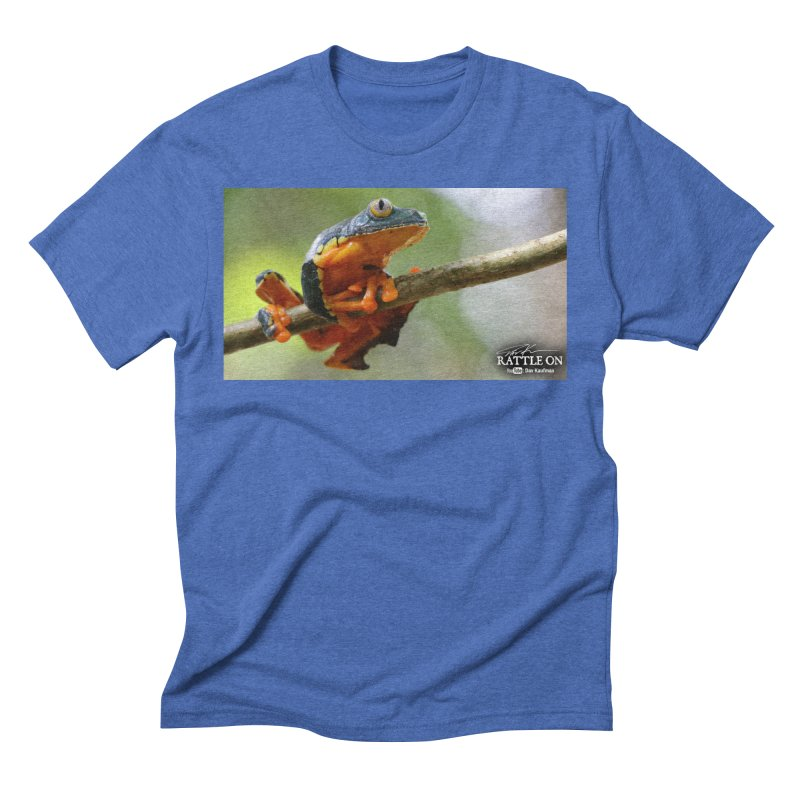 Amazon Leaf Frog Men's Triblend T-Shirt by Dav Kaufman's Swag Shop!