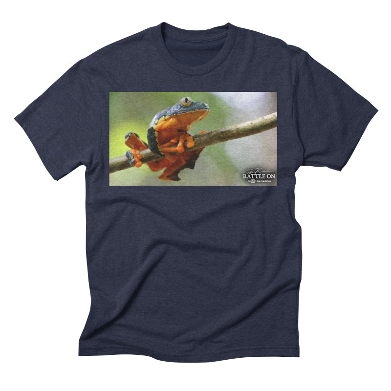 Amazon Leaf Frog Men's T-Shirt by Dav Kaufman's Swag Shop!