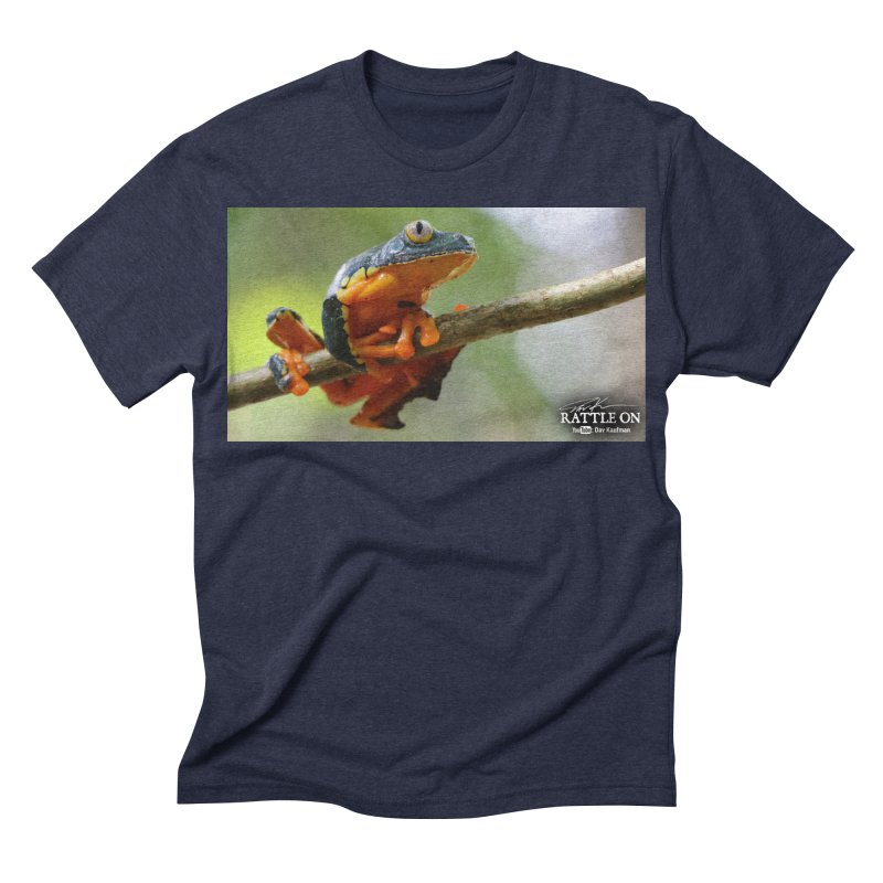Amazon Leaf Frog Men's Triblend T-shirt by Dav Kaufman's Swag Shop!