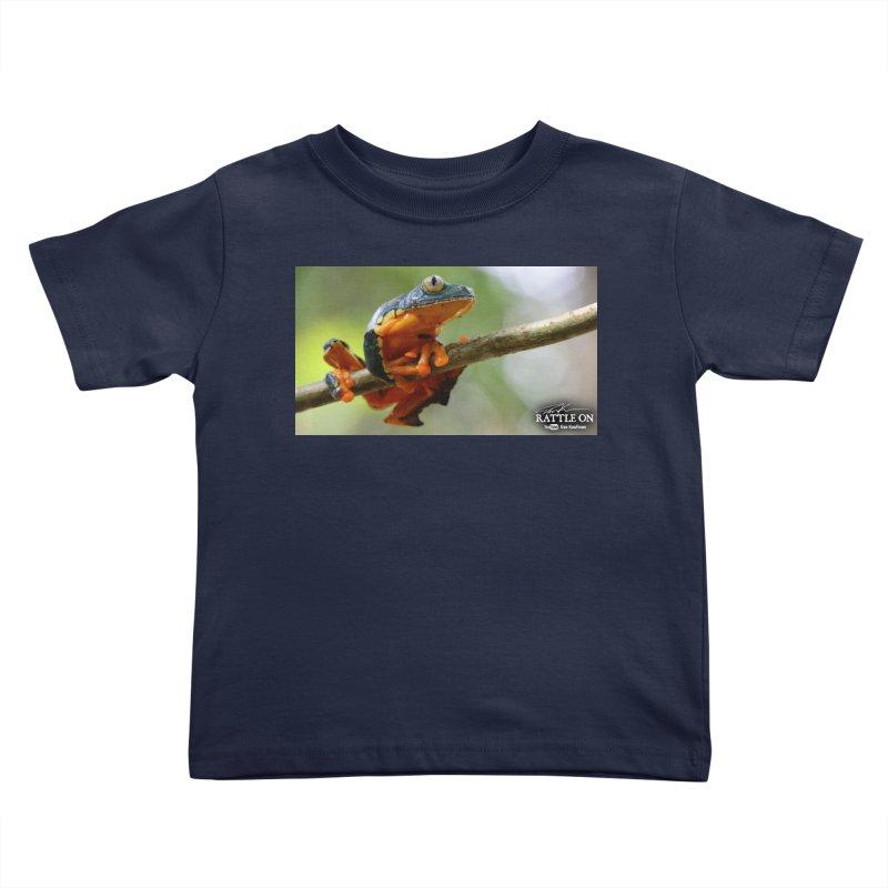 Amazon Leaf Frog Kids Toddler T-Shirt by Dav Kaufman's Swag Shop!