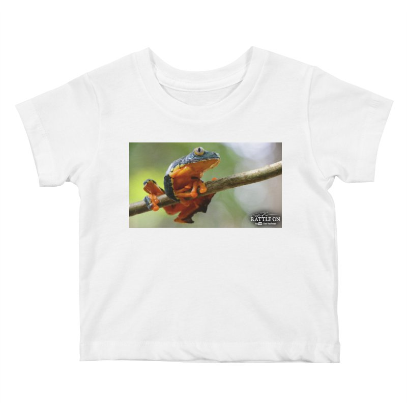 Amazon Leaf Frog Kids Baby T-Shirt by Dav Kaufman's Swag Shop!