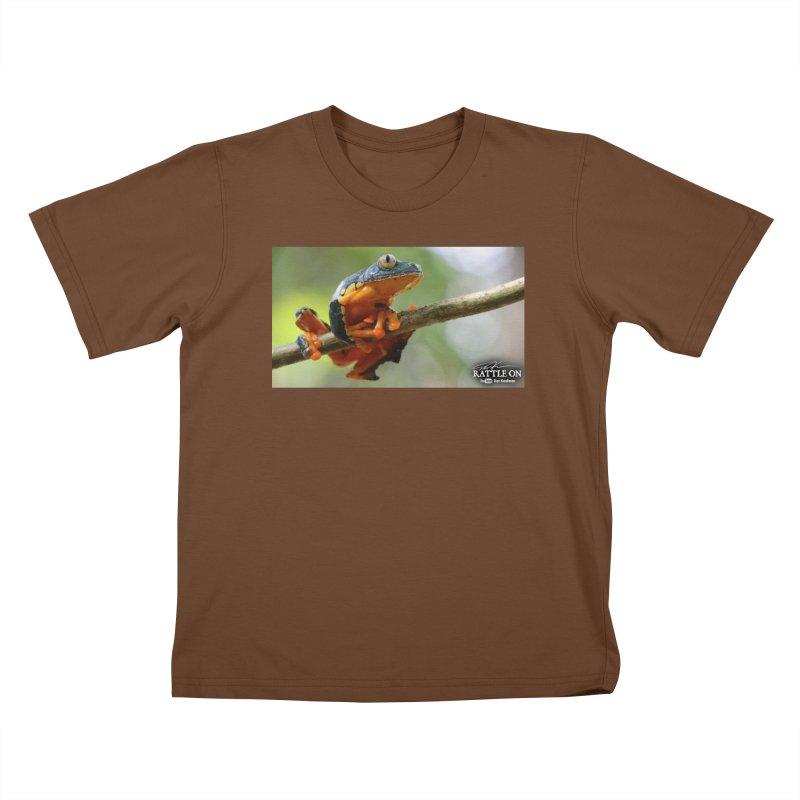 Amazon Leaf Frog Kids T-Shirt by Dav Kaufman's Swag Shop!