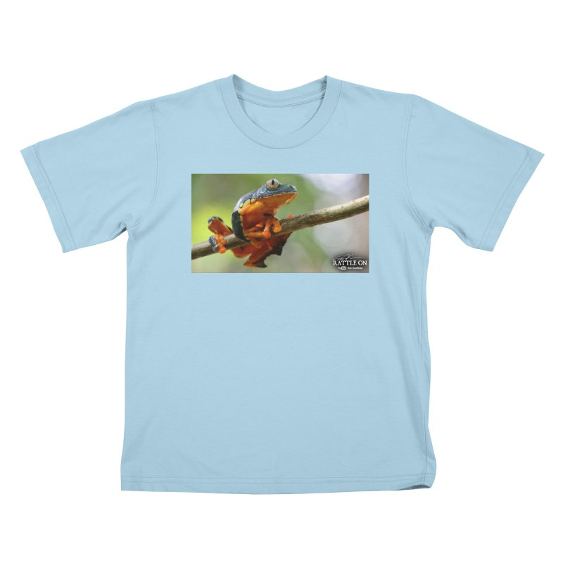 Amazon Leaf Frog Kids T-Shirt by Dav Kaufman's Swag Shop!
