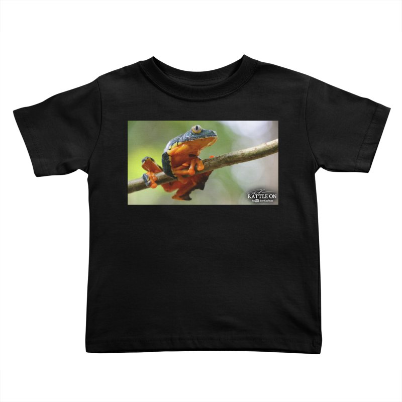 Amazon Leaf Frog Kids Toddler T-Shirt by Dav Kaufman's Swag Shop!