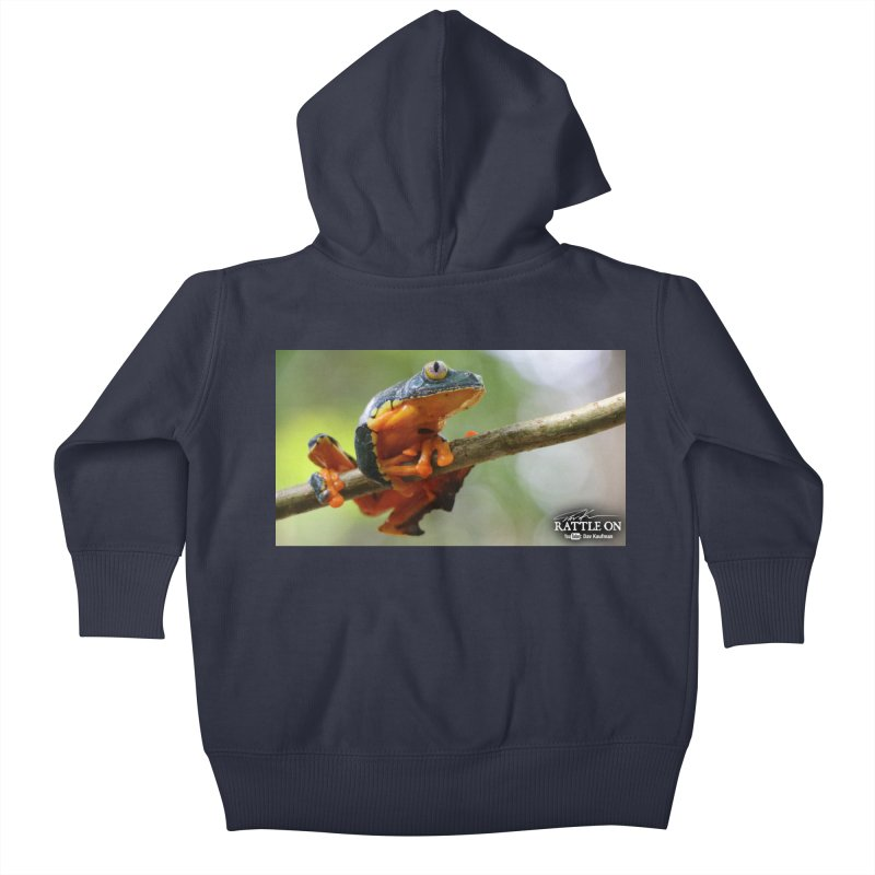 Amazon Leaf Frog Kids Baby Zip-Up Hoody by Dav Kaufman's Swag Shop!