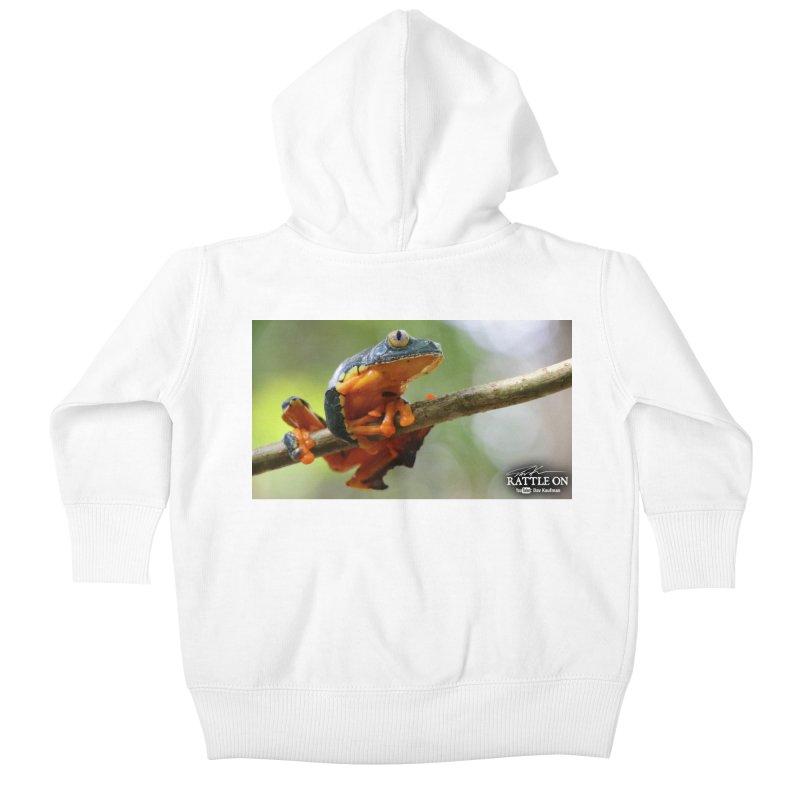 Amazon Leaf Frog Kids Baby Zip-Up Hoody by Dav Kaufman's Swag Shop!