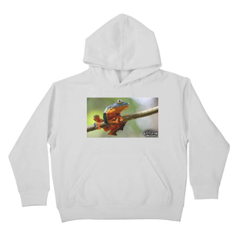 Amazon Leaf Frog Kids Pullover Hoody by Dav Kaufman's Swag Shop!