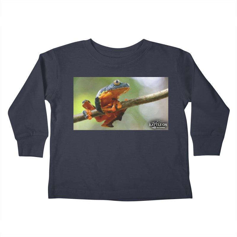 Amazon Leaf Frog Kids Toddler Longsleeve T-Shirt by Dav Kaufman's Swag Shop!