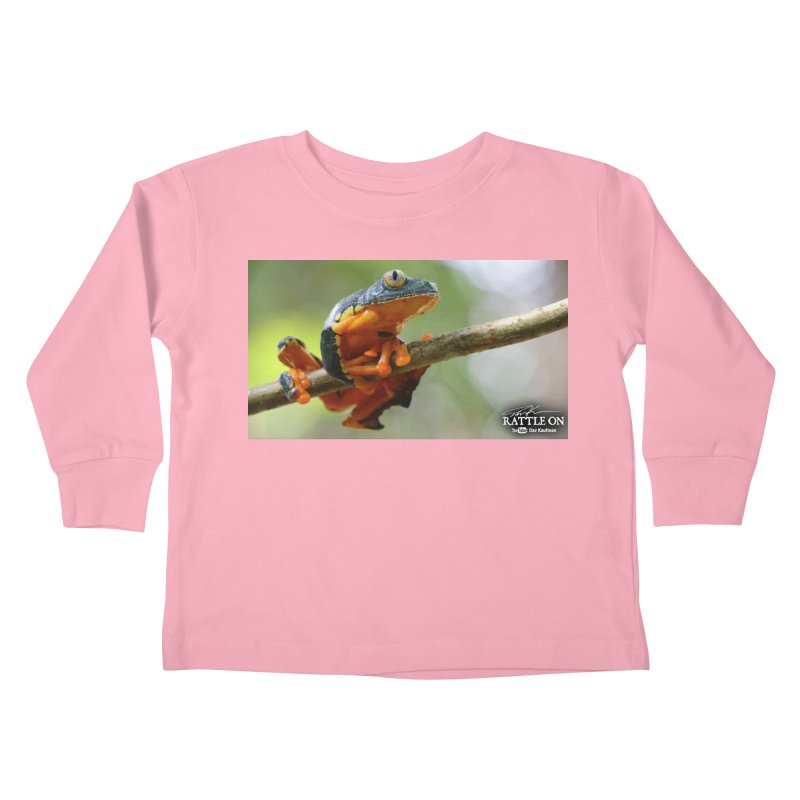 Amazon Leaf Frog Kids Toddler Longsleeve T-Shirt by Dav Kaufman's Swag Shop!